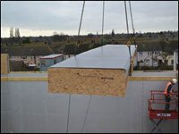 composite roof panel