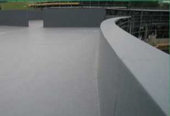 tpe_single_ply_membrane_on_flat_roof