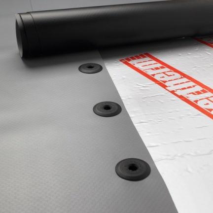 fixing single ply membranes