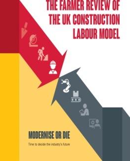 uk construction labour model